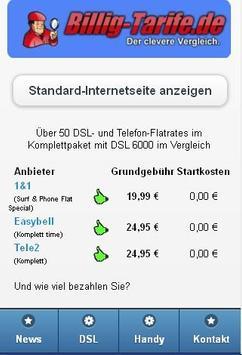 Handy & DSL Tarifvergleich apk screenshot