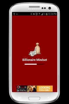Billionaire Mindset poster