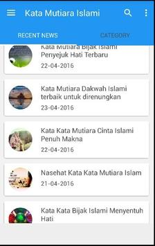 Kata Mutiara Cinta Bijak Islam apk screenshot