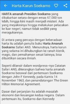 Harta Karun Sukarno Indonesia poster