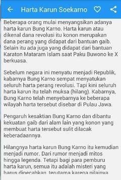 Harta Karun Sukarno Indonesia apk screenshot