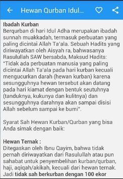Hewan Qurban Idul Adha poster