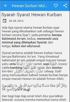 Hewan Qurban Idul Adha apk screenshot