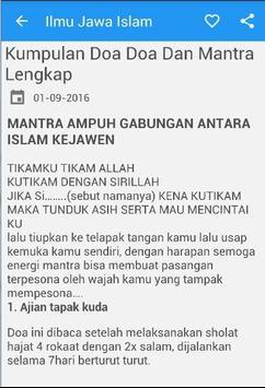 Ilmu Jawa Islam apk screenshot