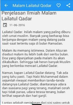 Malam Lailatul Qadar apk screenshot