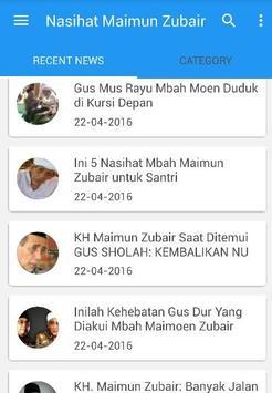 Mbah KH Maimun Zubair Tokoh apk screenshot