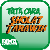 Tuntunan Sholat Tarawih Witir icon