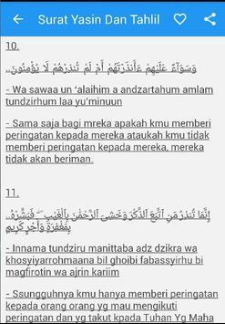 Surat Yasin Arab Latin Artinya apk screenshot