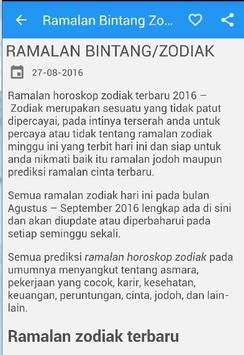 Ramalan Zodiak Bintang apk screenshot