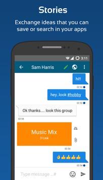 Bimbask - Interact your Apps apk screenshot