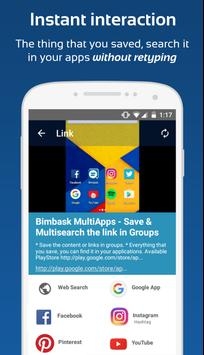 Bimbask - Interact your Apps poster