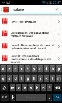 Code de Travail Marocain apk screenshot