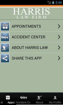 Harris Law apk screenshot