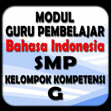 Bahasa Indonesia SMP KK-G poster