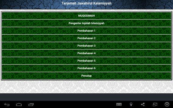 Jawahirul Kalamiyah Terjemah apk screenshot
