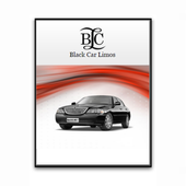 Black Car Limo icon