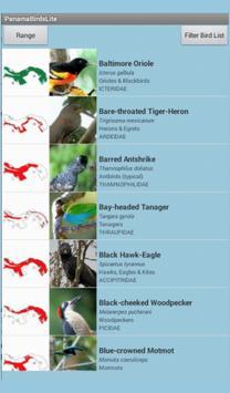 Panama Birds Lite Field Guide poster