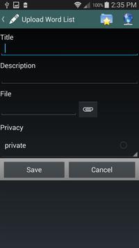 VocabPal Free apk screenshot