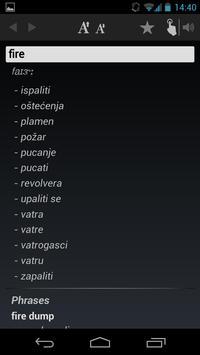 Free Dict Croatian English apk screenshot
