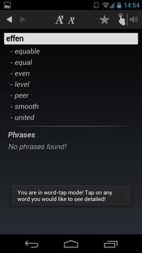Free Dict Dutch English apk screenshot