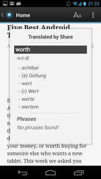 Free Dict German English apk screenshot