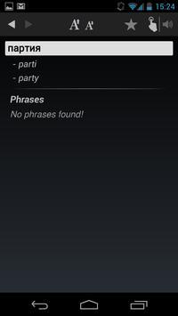 Free Dict Russian English apk screenshot