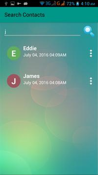 New! Contacts apk screenshot