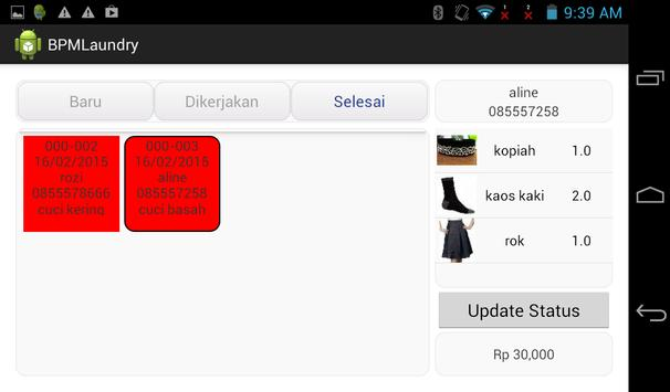 BLM - Software Laundry Android apk screenshot