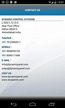 Dynamic Control Systems apk screenshot