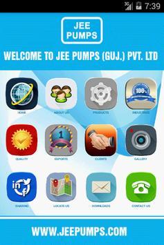 JEE PUMPS poster