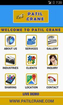 Patil Crane Hiring poster