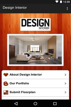 Design Interior poster