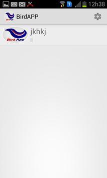 BirdApp apk screenshot