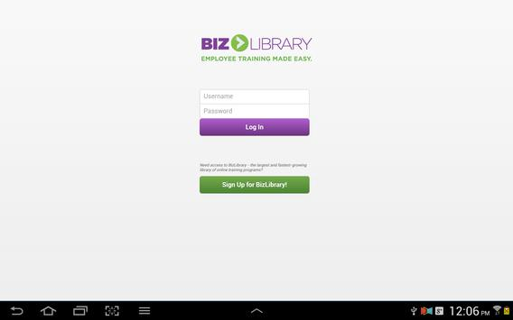 BizMobile apk screenshot