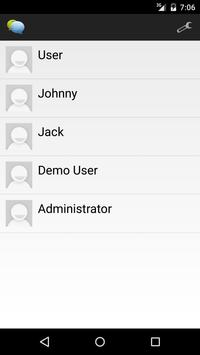 Instant Chat For Odoo apk screenshot