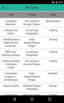 Task Management of Odoo apk screenshot