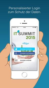 IT SUMMIT 2015 by ITC poster