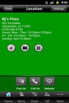 BJ's Pizza House apk screenshot