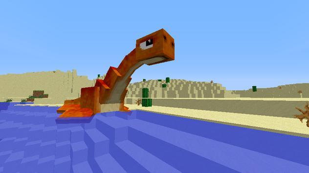 Dinosaur Mods For Minecraft poster