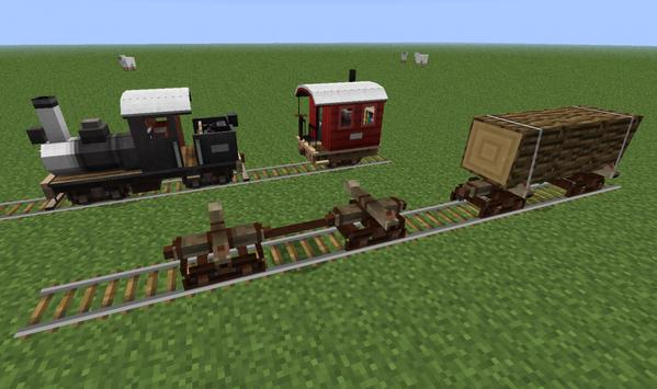 Train Mods For Minecraft poster