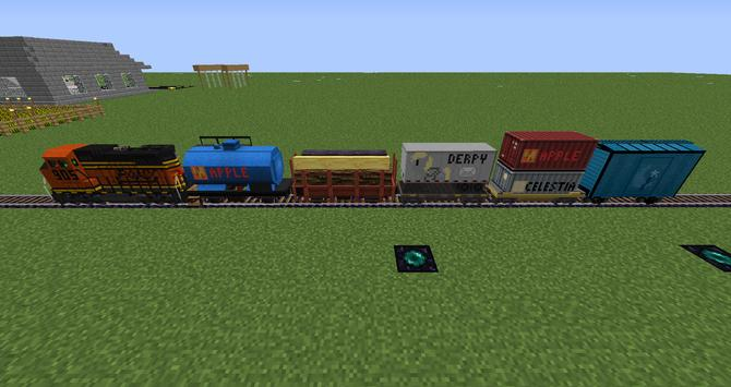 Train Mods For Minecraft apk screenshot