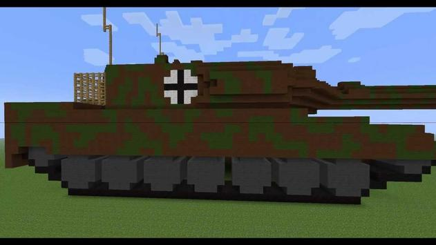 Tank Mod For Minecraft poster