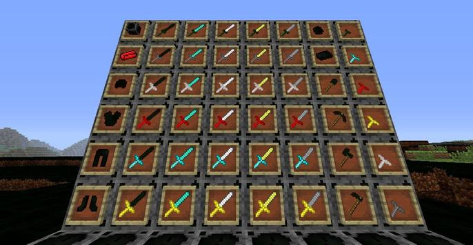 Sword Mods For Minecraft poster