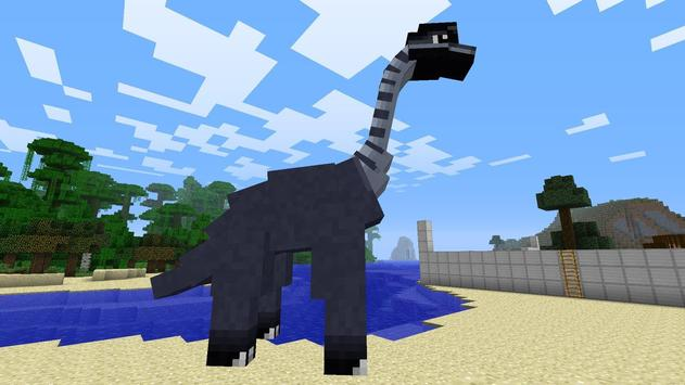 Dinosaur Mod For Minecraft poster