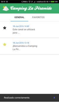 Event Notifier - La Piramide apk screenshot
