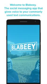 Blabeey poster