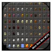 More Items Mod MCPE Universe icon