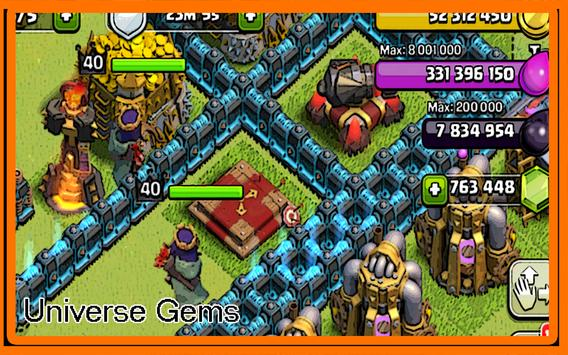 Universe Cheat Clash of Clans poster