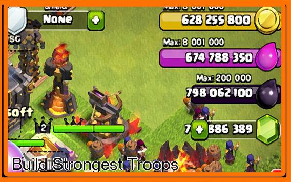 Universe Cheat Clash of Clans apk screenshot