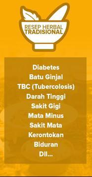 Resep Obat Herbal Tradisional apk screenshot